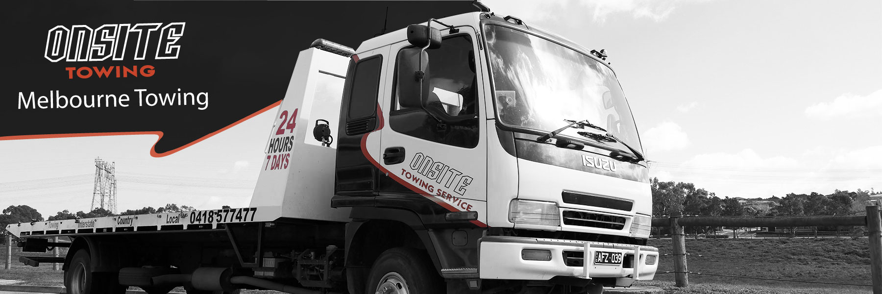Melbourne Towing - Onsite Towing Areas Serviced